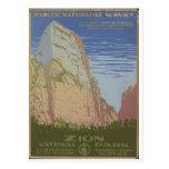 Zion National Park 1938 Springdale Utah Post Cards