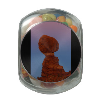Zion National Park, Balanced Rock Glass Jar