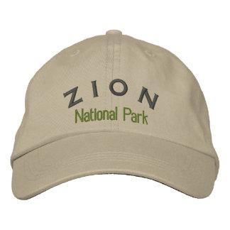 Zion National Park Baseball Cap