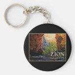 Zion National Park Key Chains