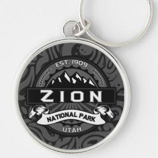 Zion National Park Ornate Keychain