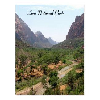 Zion National Park Postcards