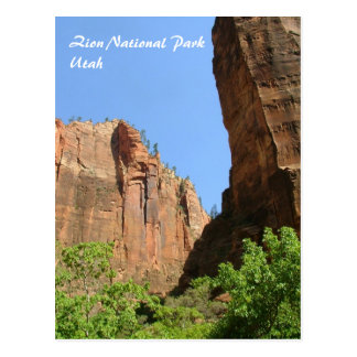 Zion National Park Postcard