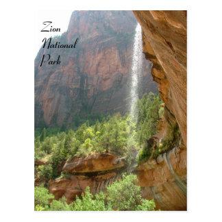 Zion National Park Postcard