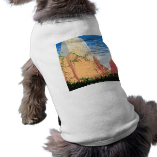 Zion National Park Sleeveless Dog Shirt