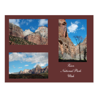 Zion National Park Template Postcard