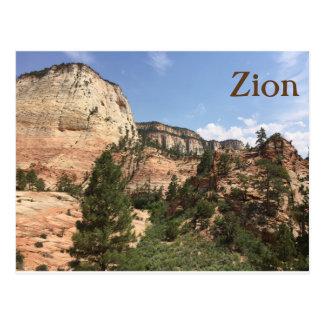 Zion National Park USA Postcard