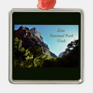 Zion National Park Utah Christmas Ornament
