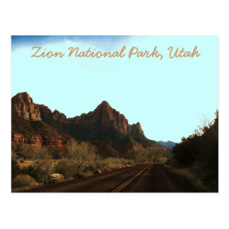 Zion National Park, Utah Postcard