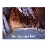 Zion National Park Utah Travel Postcards