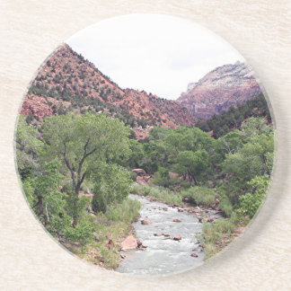 Zion National Park, Utah, USA 1 Beverage Coasters