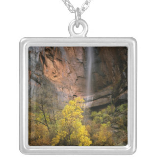 Zion National Park, Utah. USA. Ephemeral Silver Plated Necklace