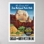 Zion National Park,Utah - Vintage Travel