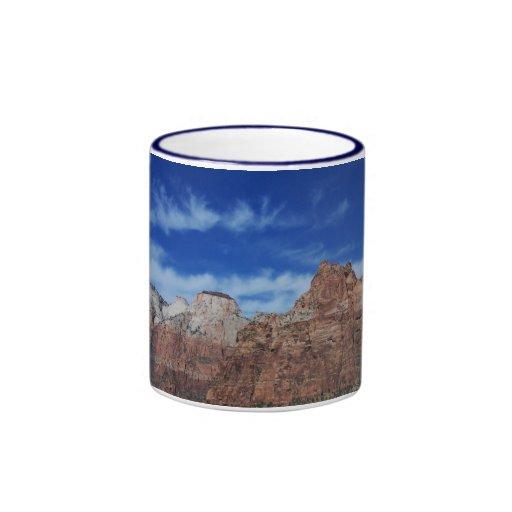 Zion. The Sky in Utah. Ringer Mug