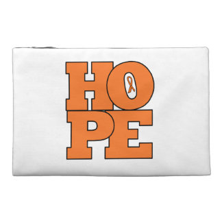 zip bag - HOPE for a cure for leukemia Travel Accessory Bags