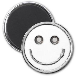 Zip It - Smiley (curve) Fridge Magnet