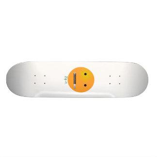 Zip It Smiley Face Emoticon Skate Board Deck