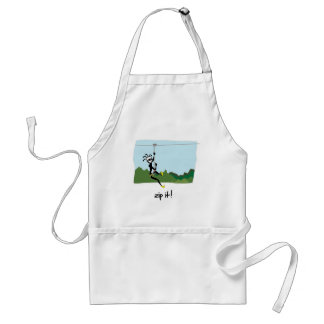 """Zip It!"" Standard Apron"
