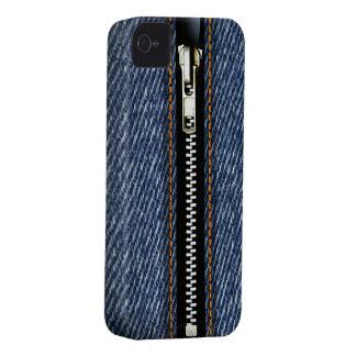 Zip It Up Surreal Blue Jeans hard plastic (denim) Blackberry Bold Cover