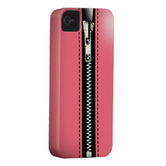 Zip It Up Surreal hard plastic (pink) Case-Mate iPhone 4 Case