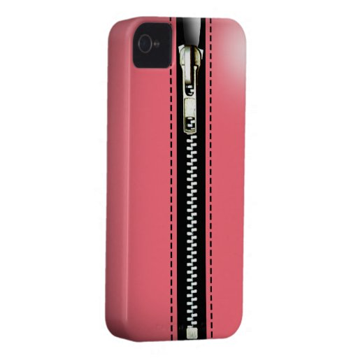 Zip It Up Surreal hard plastic (pink) Blackberry Bold Case