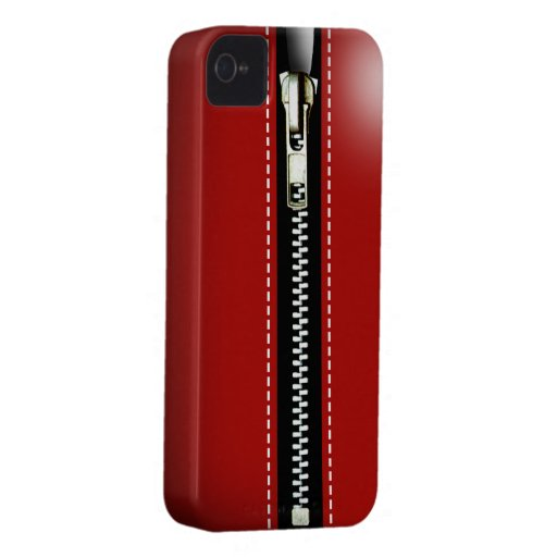 Zip It Up Surreal hard plastic (red) Case-Mate Blackberry Case