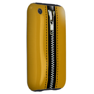 Zip It Up Surreal hard plastic (taxicab yellow) iPhone 3 Tough Cover