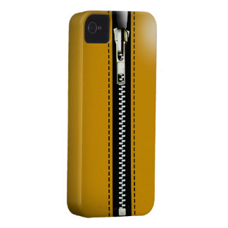 Zip It Up Surreal hard plastic (taxicab yellow) iPhone 4 Case-Mate Cases