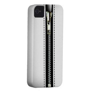 Zip It Up Surreal hard plastic (white) Case-Mate iPhone 4 Cases