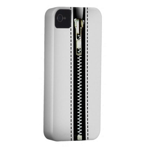Zip It Up Surreal hard plastic (white) Blackberry Bold Cases