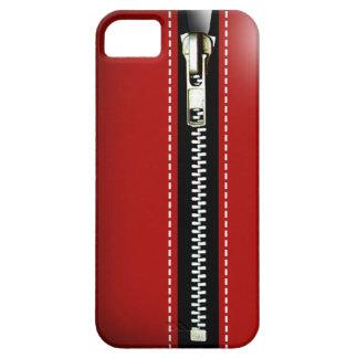 Zip It Up - Trompe L'Oeil red iPhone 5 Cases