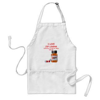 zip lining adult apron