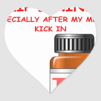 zip lining heart stickers