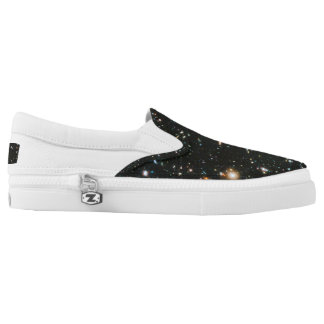 Zip thru the universe with these bodacious chucks Slip-On shoes