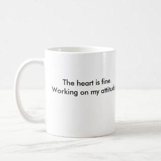 zipclub heart, The heart is fine.Working on my ... Basic White Mug