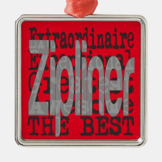 Zipliner Extraordinaire Christmas Ornament