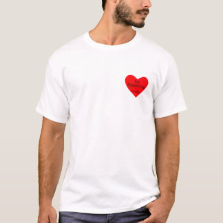 zipper club heart T-Shirt