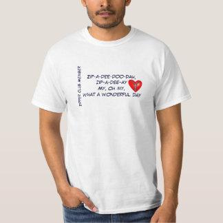 Zipper Club Member T-shirts