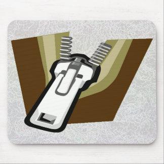 """Zipper On A Mousepad"" Mouse Mat"