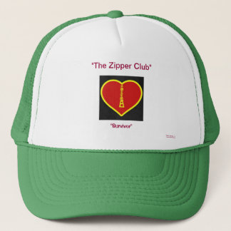 Zipper (open heart survivor) Hat