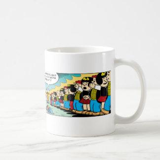 Zippy and Nancy Forever! Basic White Mug
