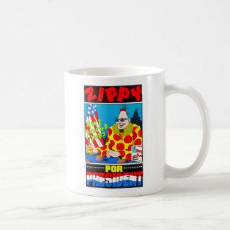 Zippy for President Coffee Mugs