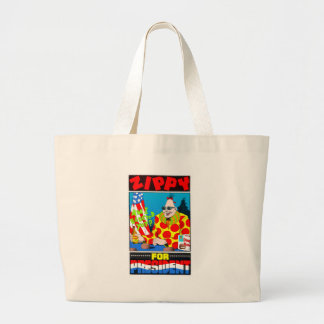 Zippy for President Jumbo Tote Bag