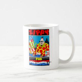 Zippy for President Mugs
