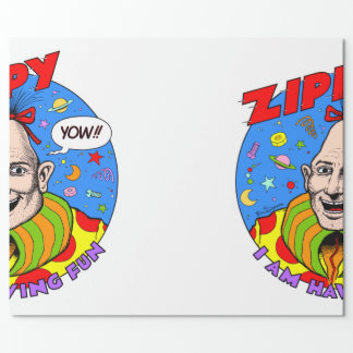 Zippy Gift Wrap! Wrapping Paper
