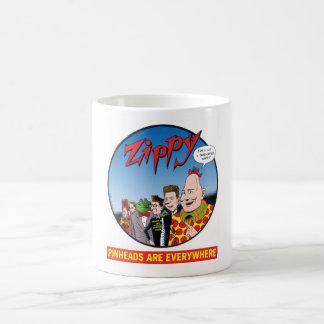 Zippy/Pinheads Are Everywhere Basic White Mug