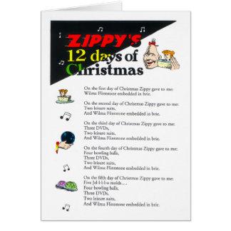 Zippy s 12 Days of Christmas Card