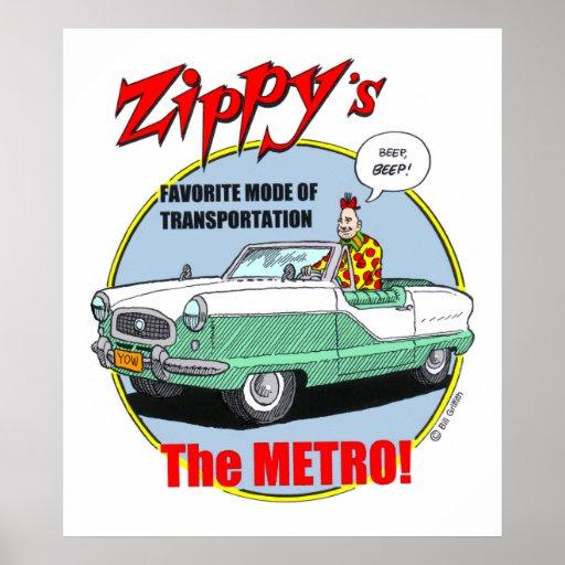 Zippy's Metro Posters