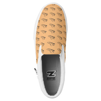 ZIPZ SLIP ON SHOES - WALKING SHOE PRINTED SHOES