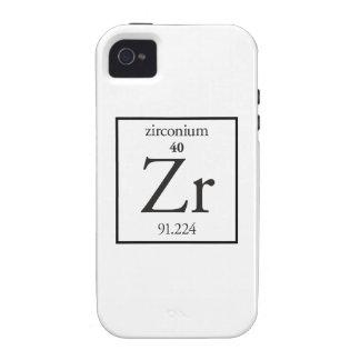 Zirconium Vibe iPhone 4 Cover
